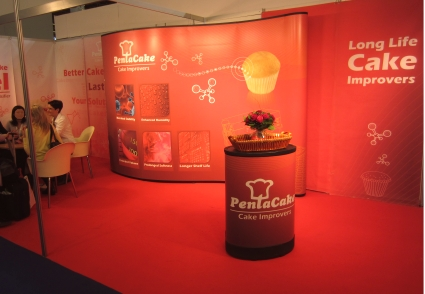 Our Booth - Food Ingredients Europe 2011