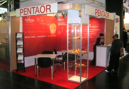 Our booth - IBA 2009 Exhibition